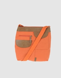 Capoverso Medium Fabric Bags Orange