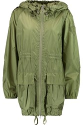 Add Shell Hooded Parka Green