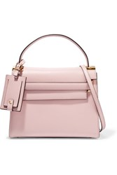 Valentino My Rockstud Small Leather Tote Baby Pink
