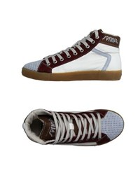 Springa Footwear High Tops And Trainers Women White