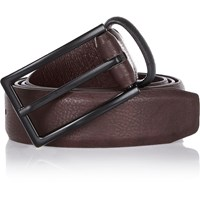 River Island Mens Dark Red Smart Belt
