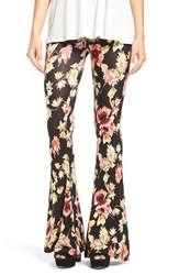 Volcom Women's 'Fallin' For You' Floral Print Flare Pants