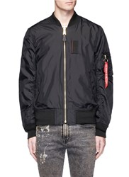 Alpha Industries 'Skymaster' Lightweight Ma 1 Bomber Jacket Black