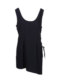 Pf Paola Frani Short Dresses Dark Blue