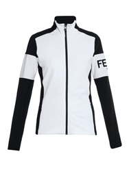 Fendi Technical Jersey Bi Colour Jacket
