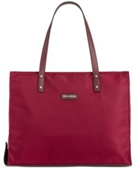 Giani Bernini Nylon Foldable Packacble Tote Only At Macy's Wine