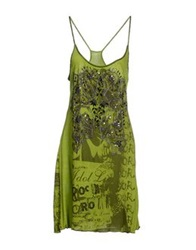 Compagnia Italiana Knee Length Dresses Acid Green