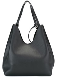 Steffen Schraut Scooped Shoulder Bag Black