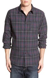 Men's Ezekiel 'Faktor' Plaid Woven Shirt