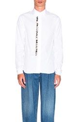J.W.Anderson J.W. Anderson Multiple Button Front Shirt In White
