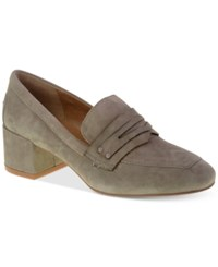 Chinese Laundry Marilyn Loafer Pumps Women's Shoes Cool Taupe