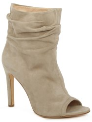 Daniel Bloomington Rouched Ankle Boots Beige