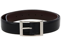 Torino Leather Co. Reversible 33Mm Aniline Leather W Aniline Leather Black Brown Belts