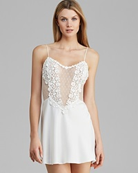 Flora Nikrooz Showstopper Charmeuse Chemise Ivory