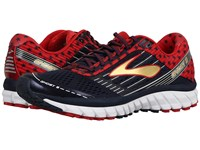 Brooks Ghost 9 Peacoat Navy True Red Gold Men's Running Shoes Black