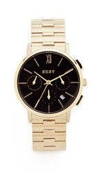 Dkny Willoughby Watch Gold Black