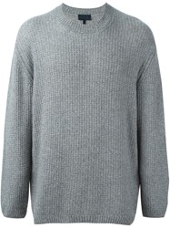 Lanvin Crew Neck Jumper Grey