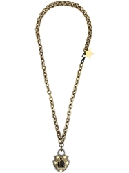 Lanvin Star Detail Necklace Metallic