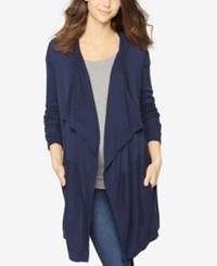 A Pea In The Pod Maternity Open Front Cardigan Midnight