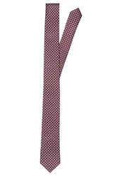 Pier One Tie Red Navy Grey