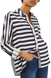 Topshop Women's Stripe Shirt