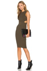 Endless Rose Bodycon Dress Olive