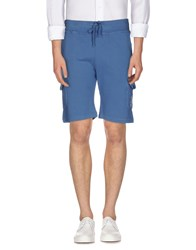 Hydrogen Trousers Bermuda Shorts Men Slate Blue