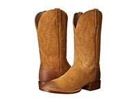 Lucchese Boone Sand Burnished Cowboy Boots Khaki