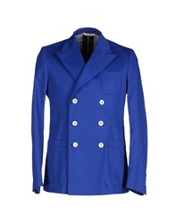 M.Grifoni Denim Suits And Jackets Blazers Men Blue