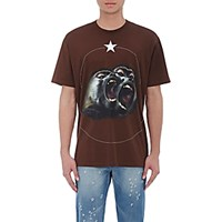 Givenchy Men's Monkey Brothers T Shirt Brown