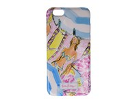Lilly Pulitzer Iphone 6 Cover Multi Under My Umbrella Cell Phone Case Blue