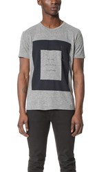 Quality Peoples All Together Pocket Tee Heather