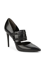 Kenneth Cole Water Leather Pumps Black