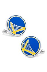 Cufflinks Inc. Men's 'Golden State Warriors' Cuff Links