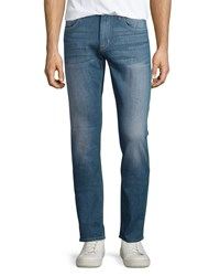 Hudson Slim Straight Leg Denim Jeans Lights Out