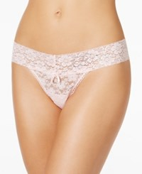 By Jennifer Moore Bridal Lace Thong 915415 Bride Pink
