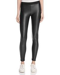 David Lerner Vegan Leather Barlow Leggings Classic Black