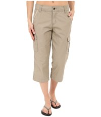 Carhartt Relaxed Fit El Paso Cropped Pants Field Khaki Women's Casual Pants