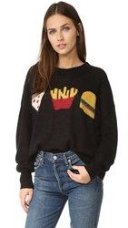 Wildfox Couture Fries With That Sweater Black