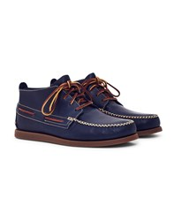 Sperry A O Wedge Leather Chukka Boot Navy