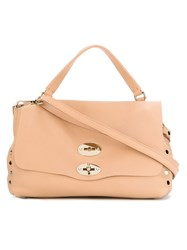 Zanellato 'Postina' Tote Nude And Neutrals