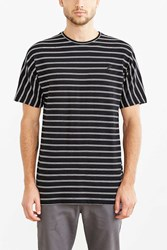 Publish Luther Striped Dolman Tee Black