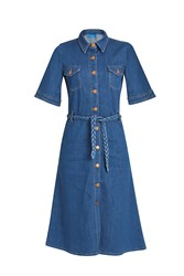 Mih Jeans 70'S Denim Dress Blue