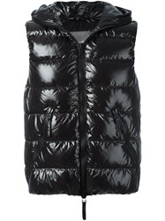 Duvetica Sleeveless Quilted Jacket Black