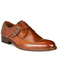 Tasso Elba Men's Lucca Single Monk Loafers Only At Macy's Men's Shoes Tan