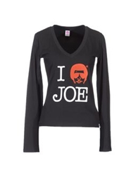 Joe Rivetto Long Sleeve T Shirts White