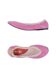 Collector Yijie Ballet Flats Light Purple