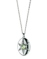 Monica Rich Kosann Prasiolite And White Sapphire Locket Necklace 32