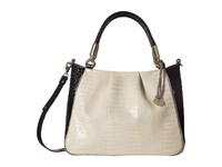 Brahmin Ruby Ivory Handbags White