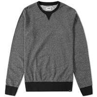 Edwin International Crew Sweat Black